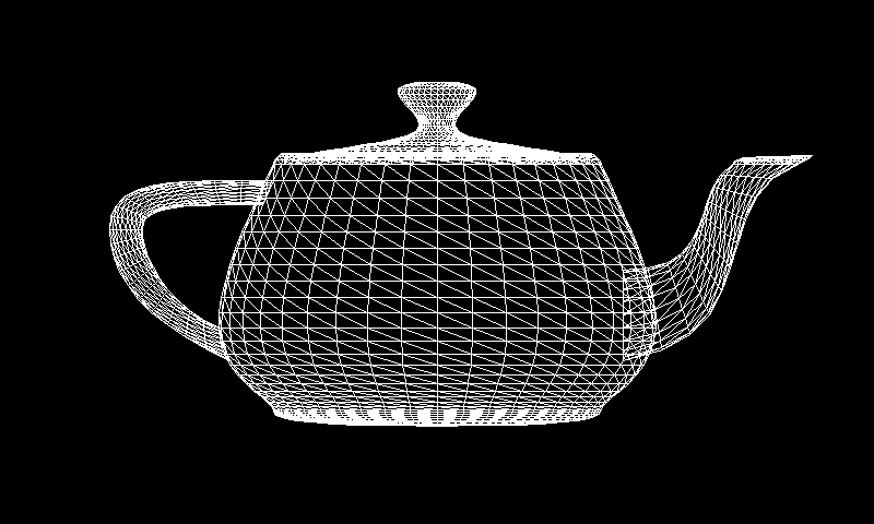 Software 3D rendering in JavaScript, Part 1: Wireframe model