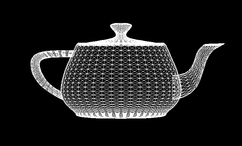 Teapot without backface culling
